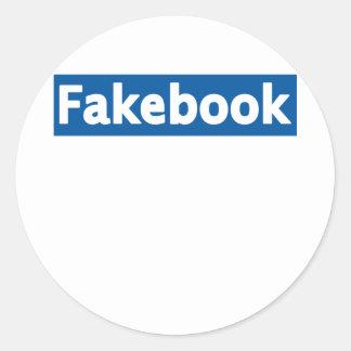 Fakebook ラウンドシール