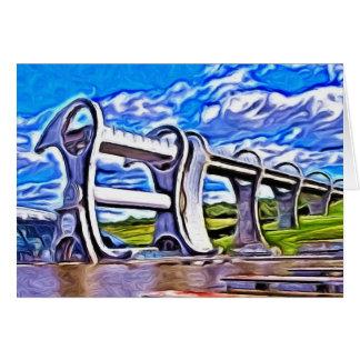 Falkirkの車輪、スコットランド カード