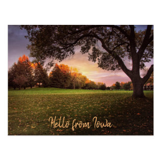 Fall in Love with Iowa Post Card ポストカード