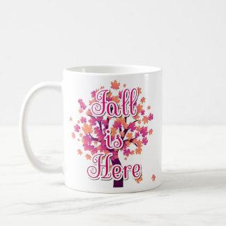 Fall is Here Mug (11 oz) コーヒーマグカップ