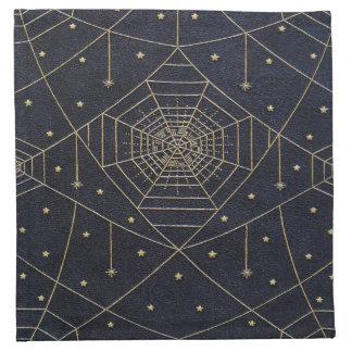 Fallnのくもの絹の星 ナプキンクロス