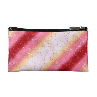 Fallnのピンクの桜の日の出 コスメティックバッグ