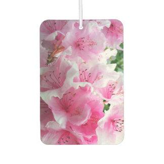 Fallnのピンクの花の花 カーエアーフレッシュナー