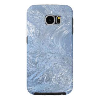 Fallnのファンタジーの氷 Samsung Galaxy S6 ケース