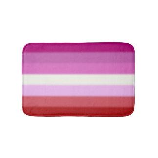 Fallnのレズビアンのプライドの旗 バスマット
