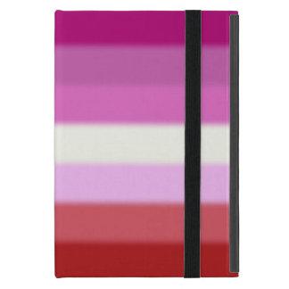 Fallnのレズビアンのプライドの旗 iPad Mini ケース