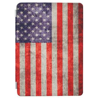 Fallnの旧式な米国旗 iPad Air カバー