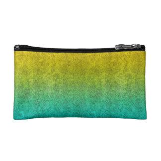 Fallnの海の日の出のグリッターの勾配 コスメティックバッグ