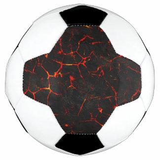 Fallnの熱い溶岩 サッカーボール