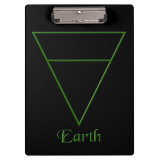 Fallnの異教のな地球の要素の記号 クリップボード