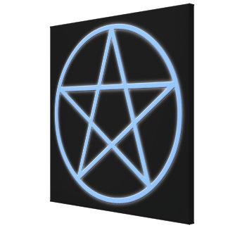Fallnの異教徒の星形五角形 キャンバスプリント