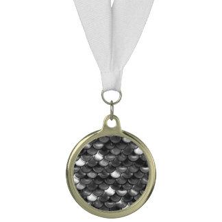 Fallnの白黒スケール メダル