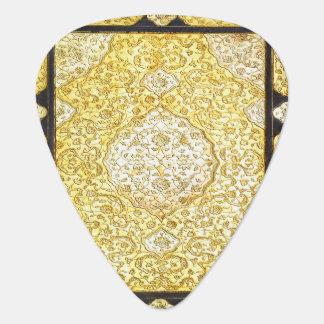 Fallnの神聖な金ゴールド ギターピック