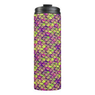 Fallnの紫色および緑のスケール タンブラー