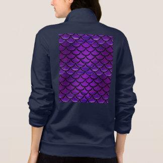 Fallnの紫色及び青の人魚のスケール