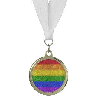 Fallnの虹のグリッターの勾配 メダル
