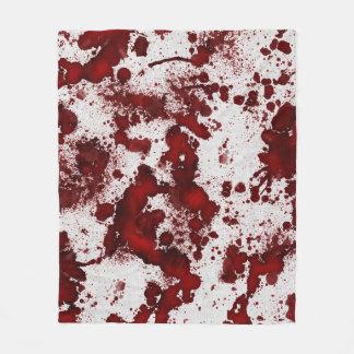 Fallnの血の染み フリースブランケット