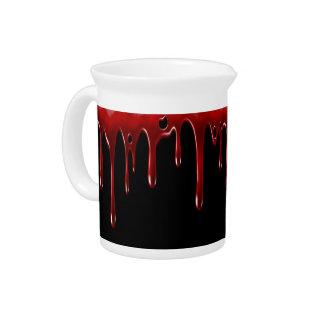 Fallnの血は黒を滴らせます ピッチャー