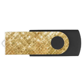 Fallnの金チェッカーボード USBフラッシュドライブ