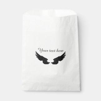 Fallnの黒い天使の翼 フェイバーバッグ