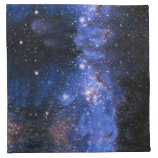 Falln青いEmbrionicの星 ナプキンクロス