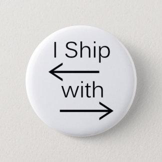 Falln Iの船それ(背景色を選びます!) 缶バッジ