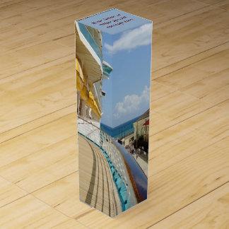 Falmouthの波止場のカスタム ワインギフトボックス