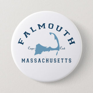 Falmouth -ケープコッド 7.6cm 丸型バッジ