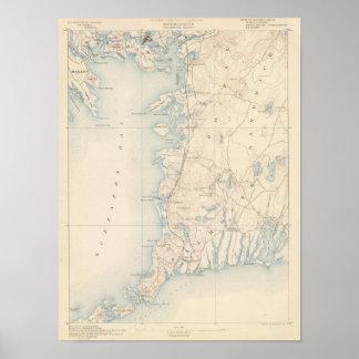 Falmouth、マサチューセッツ ポスター