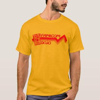Famicomの道場のロゴのワイシャツ Tシャツ