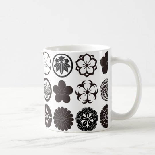 [Family Crests] Flowers コーヒーマグカップ