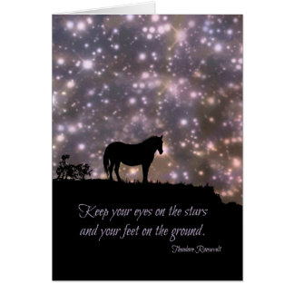 Famous Quote Congratulations on Graduation Card カード