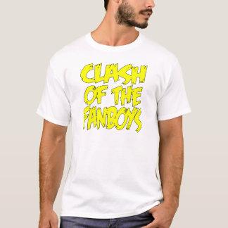 Fanboysのロゴの衝突 Tシャツ