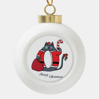 Fancy Christmas セラミックボールオーナメント