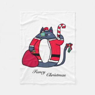 Fancy Christmas Fleece Blanket フリースブランケット
