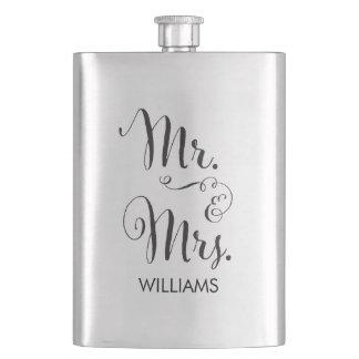 Fancy Script Flask氏及び夫人 フラスク