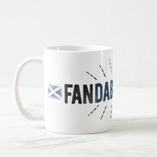 Fandabbydosey -スコットランドのレトロのマグ コーヒーマグカップ