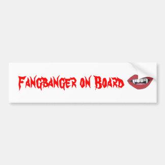 Fangbanger船上に バンパーステッカー