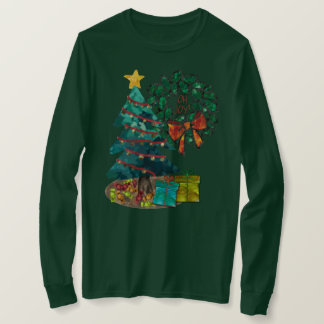 Fantastic Watercolor Christmas Personalized Tシャツ