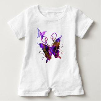 Fantasy Butterflies ベビーロンパース