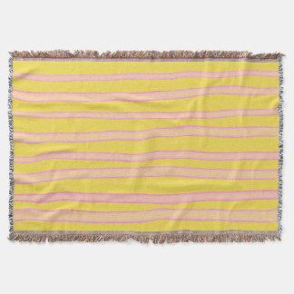 Fantasy striped pattern スローブランケット