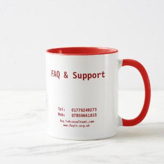FAQ及びサポート マグカップ
