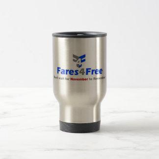 Fares4Freeのタンブラー トラベルマグ