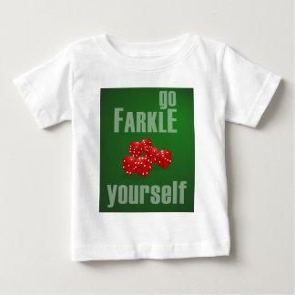 Farkleあなた自身は行きます ベビーTシャツ