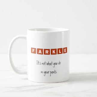 Farkle コーヒーマグカップ