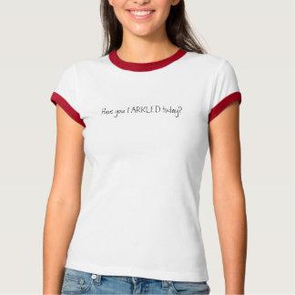 FARKLED今日ありますか。 Tシャツ