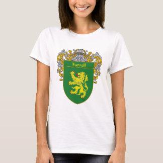 Farrellの紋章付き外衣(包まれる) Tシャツ