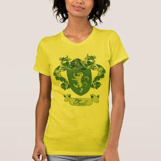 Farrell家族の紋章学の頂上 Tシャツ