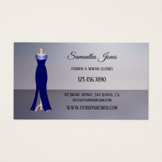 Fashion Sewing or Boutique Business Card 名刺