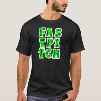 Fastpitchのブロック、ネオンgreen2 Tシャツ